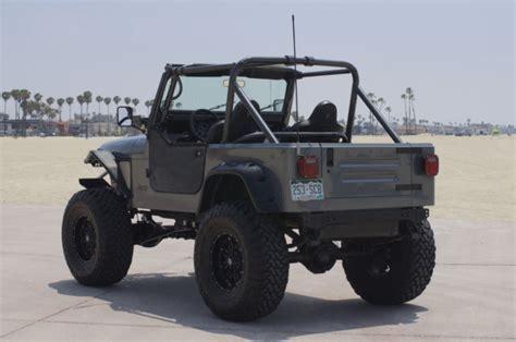 jeep yj custom jeep wrangler yj custom no reserve