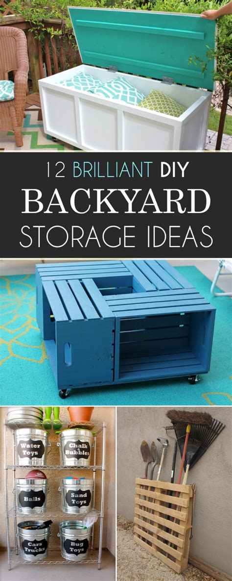 backyard storage ideas 12 brilliant diy backyard storage ideas you need to try