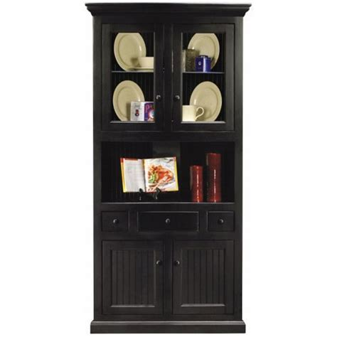 best price eagle industries 72204plbk corner dining hutch