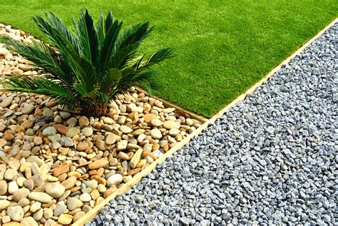 types of gravel for gardens use rock pebbles dg wood chips in your drought