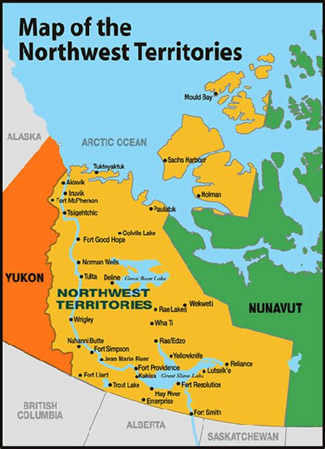 canadian map territories canada s northwest territory had its boundaries changed in