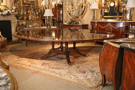 custom  extra wide  dining table  stdibs