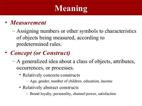 Design Criteria Meaning | criteria for a good scale