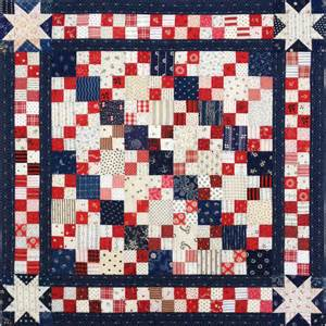 patriotic 4 patch doll quilt top q is for quilter