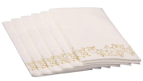 decorative paper towels for bathroom simulinen towels like linen great for guest and