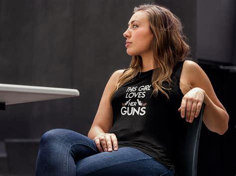 girls loves  gun girls  guns clothing girls