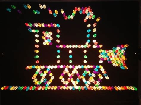 1980s lite brite with several unused templates