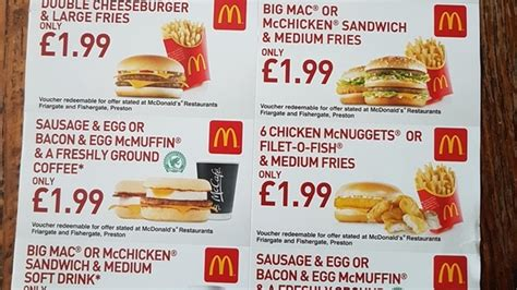 mcdonalds printable vouchers uk 2015 163 1 99 mcdonald s vouchers ashappyas