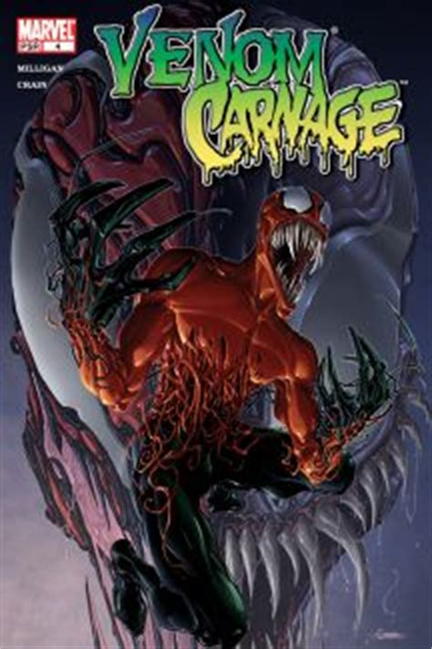 symbiote the peradon series books venom vs carnage 2004 comic books comics marvel