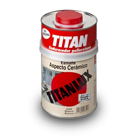 esmalte aspecto ceramico titanlux  pintar  renovar