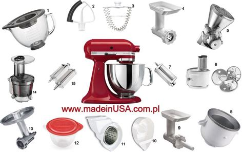 Kitchenaid mixer and all attachments www.madeinusa.com.pl   www.madeinusa.com.pl   Pinterest