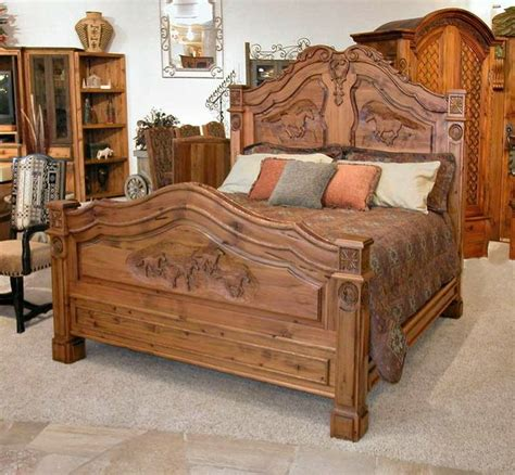 wood carving bed king beds westerns and wood carvings on pinterest