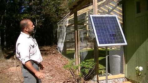 Solar Panel Flowers Charge By Day And Light Up At by How To Set Up A Solar Power 12 Volt Light Charge