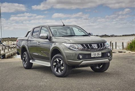 2017 Mitsubishi Triton Update Now On Sale In Australia