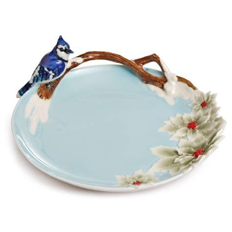 franz collection porcelain joyful bird figurine blue franz collection quot song bird quot blue jay porcelain ornamental