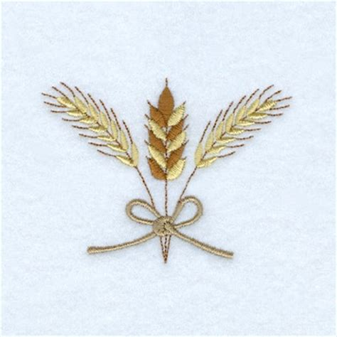 embroidery design wheat wheat embroidery design annthegran