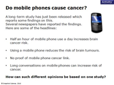 Mobile Phone Cancer Risk To Be Investigated by Mobile Phones Should We Be Worried