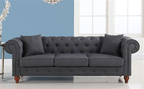 gray chesterfield sofa grey chesterfield sofa bed surferoaxaca