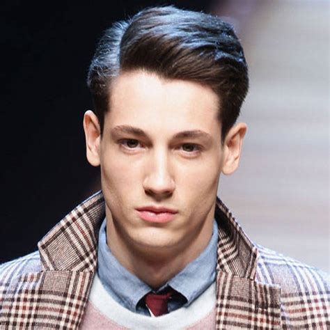 one side hairstyle for short hair for man latest beautiful side part hairstyles for men