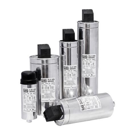power factor correction capacitor protection controls weg