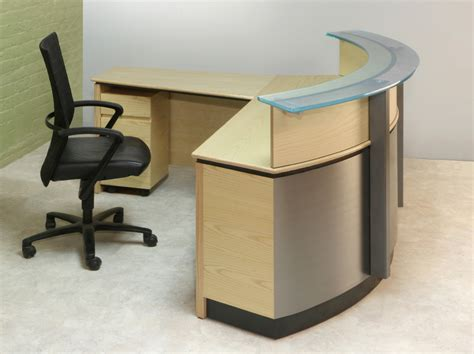 L Shaped Reception Desks Glass Reception Desks L Shaped Reception Desk