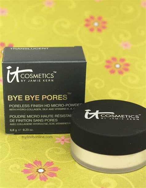 It Cosmetic Bye Bye Pores Micro Powder it cosmetics bye bye pores hd micro powder myfindsonline