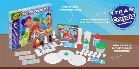 color chemistry color chemistry set learn about science crayola