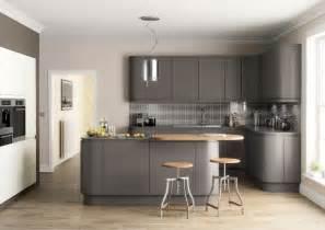 Kitchen Diner Flooring Ideas matt kitchen dark grey your kitchen broker