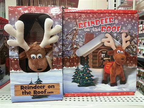 Reindeer On A Shelf by Introducing Reindeer On The Roof New On The Shelf