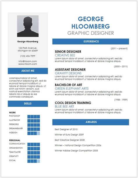 cv template word free online cv templates free download word document c45ualwork999 org