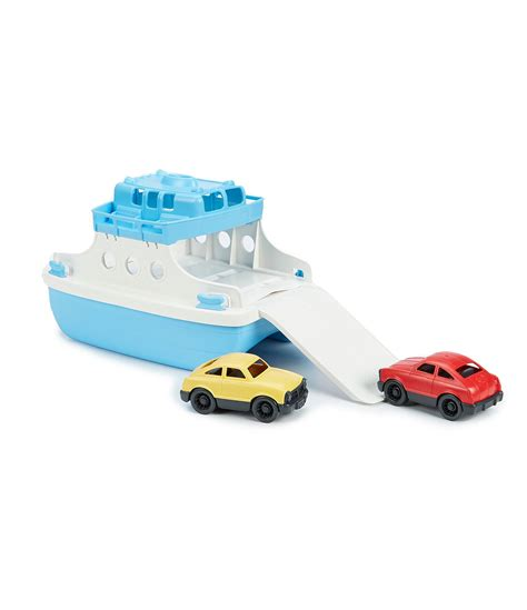 ferry boat with mini cars green toys ferry boat with mini cars dillards