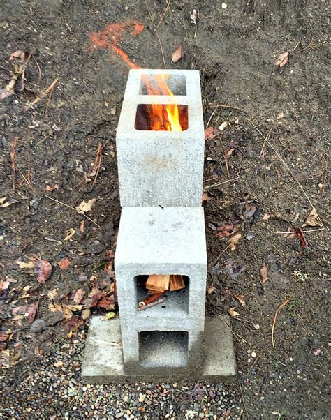 Simple To Build House Plans build a rocket stove from concrete blocks attainable