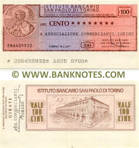 istituto bancario san paolo di torino sede legale italy istituto bancario san paolo di torino assegno