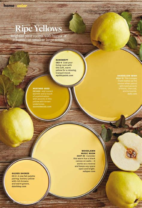 ripe yellows paint palette paint color used sunswept 083 4 by mythicpaint mustard seed