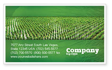 Rice Business Card Template by Rice Paddies Business Card Template Layout Rice
