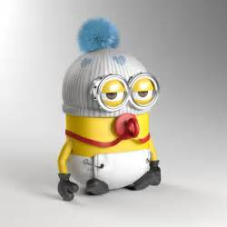 Cute baby minions car pictures