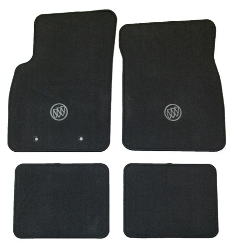 Buick Lucerne Floor Mats by New Oem Factory Floor Mats Floormats Black W Logo
