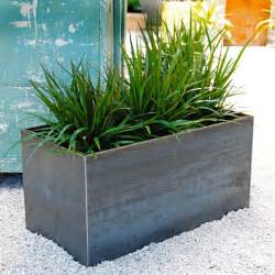 Ikea Outdoor Planters by Handmade Plate Steel Planter By Sarabi Studio Custommade Com