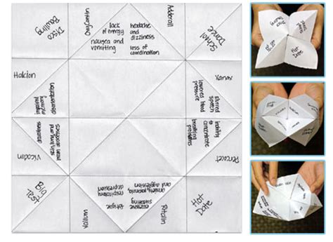 How Do U Make A Fortune Teller Out Of Paper - opiate toolkit for elementary students stark county