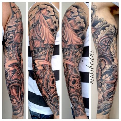 sleeve tattoo filler designs background filler for tattoos free cloud