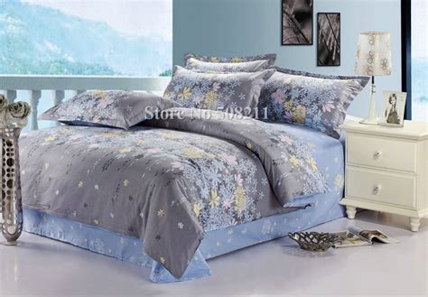 blue comforter sets full free shipping bedding sets cotton quilt duvet covers 4pcs