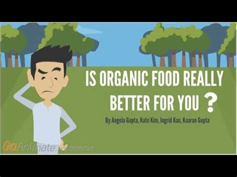is organic really better is organic food really better for you