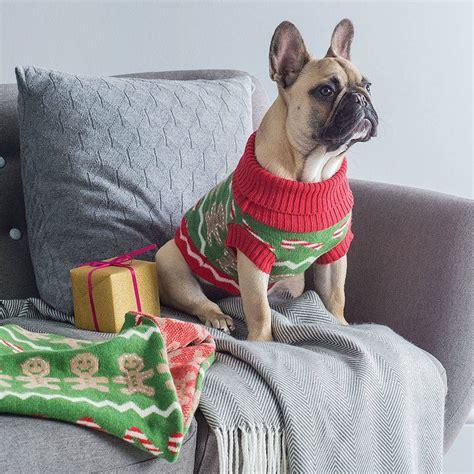 gingerbreadman dog christmas jumper christmas jumpers pets christmas jumpers christmas jumpers