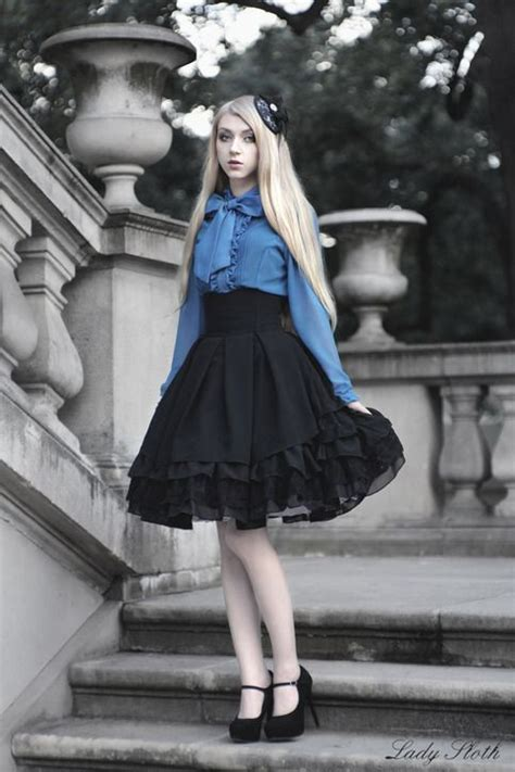 26126 Lace Dress skirt is made from black fabric mix of cotton and