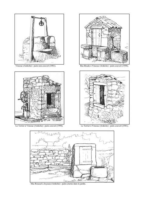 Choix de dessins à la plume de Michel Rouvière regroupés