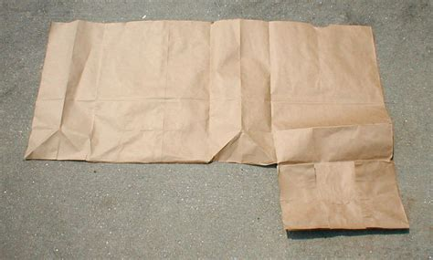 Steps To Make A Paper Bag - how to make a book cover with a paper bag