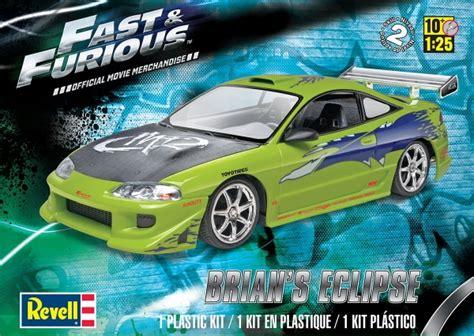 Fast Furious Satu Set Skala 155 fast furious brian s mitsubishi eclipse 1 25 fs