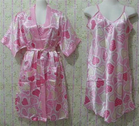 Baju Tidur Wanita Kimono jual baju tidur kimono dress 301 pink lullaby store