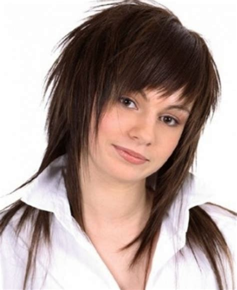 Choppy Hairstyles by Choppy Haircuts With Bangs Find Hairstyle
