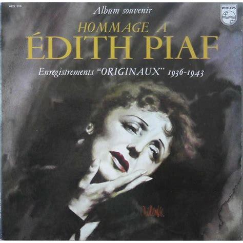 édith piaf tu es partout album souvenir hommage 224 edith piaf by edith piaf lp x